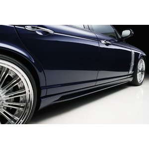 WALD ヴァルド ジャガー サイドステップ 未塗装 スポーツラインブラックバイソンエディション|horidashimono