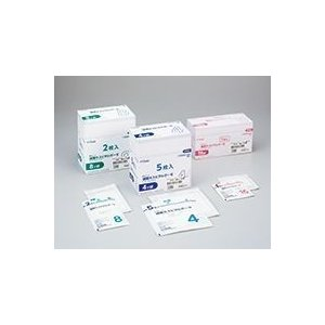 オオサキメディカル 滅菌ホスピタルガーゼRS RS4-5 30cm×30cm 4ツ折 5枚入(20袋)11199|horie-ph