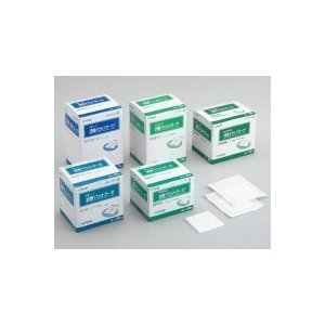 【特長】 ●気管カニューレなどを挟み込めるようにY型に切込みを入れた処置用ガーゼです。 ●粘性の液体...