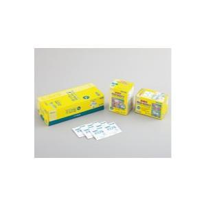1包に2枚入でしっかり消毒できる、脱脂綿タイプ単包イソプロパノール70%含浸綿です。  ●脱脂綿は毛...