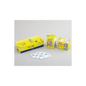 1包に2枚入でしっかり消毒できる、脱脂綿タイプ単包エタノール80%含浸綿  ●脱脂綿は毛羽立ちを抑え...