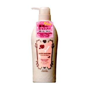 【新商品】HAPPY BATH DAY(ハッピーバスデイ) プレシャスローズ エンリッチシャンプー(ポンプ) 550ml|horie-ph