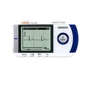 【送料無料】オムロン 携帯心電図計 HCG-901 医療用|horie-ph