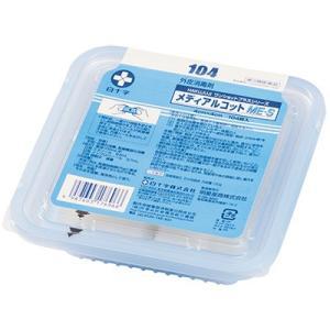 白十字 メディアルコットME-S 104枚入 4cm×4cm 76.9〜81.4 vol% エタノール 123mL 3.7vol%イソプロパノール添加【第3類医薬品】|horie-ph