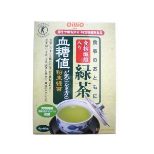 血糖値が気になる方の粉末緑茶 (特定保健用食品)  6g×60包|horie-ph