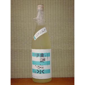 清泉 純米吟醸 しぼりたて1800ml 新潟県 日本酒 久須美酒造 冷蔵便|horie-saketen