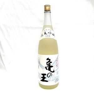 清泉 亀の王 純米吟醸生貯蔵酒 1800ml 新潟県 信越 日本酒 久須美酒造|horie-saketen