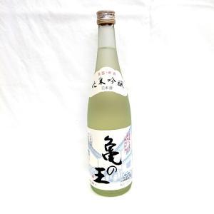 清泉 亀の王 純米吟醸生貯蔵酒 720ml 新潟県 信越 日本酒|horie-saketen