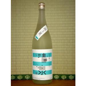 清泉 純米吟醸 越淡麗 1800ml 新潟県 日本酒 信越|horie-saketen