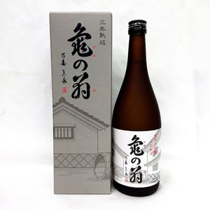 清泉 亀の翁 純米大吟醸酒 三年熟成酒 720ml 新潟県 信越 日本酒|horie-saketen