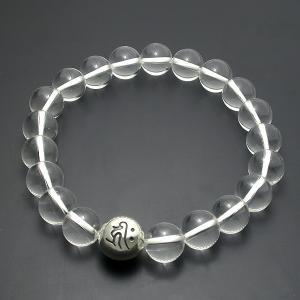守護梵字・数珠ブレスレット・水晶|horigin-store