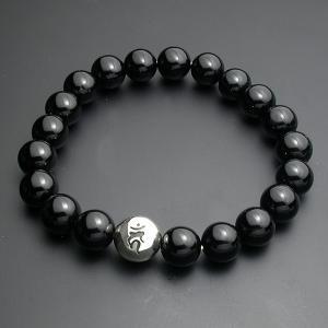 守護梵字・数珠ブレスレット・オニキス|horigin-store