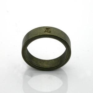 旋盤引き・刻印入り真鍮リング|horigin-store|02
