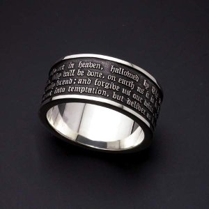 Lord's Prayer Ring【主の祈りリング】|horigin-store|01