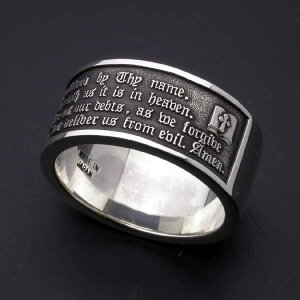 Lord's Prayer Ring【主の祈りリング】|horigin-store|04