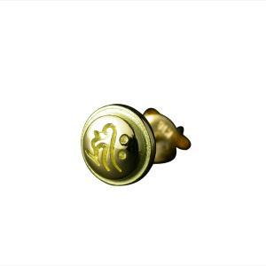 守護梵字ピアス・K18ゴールド|horigin-store