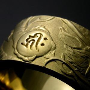 昇龍リング・右龍・K18ゴールド(#15〜#19)|horigin-store|04