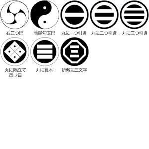 家紋入りチタン印鑑(個人実印・銀行印・15mm)シルバーエンブレム・梅コース horigin-store 05