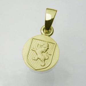 ライオンバックラーペンダント・K18ゴールド|horigin-store
