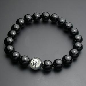漢字入り・数珠ブレスレット・オニキス|horigin-store