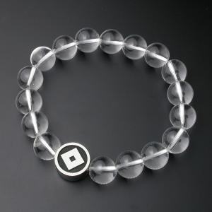 家紋・数珠ブレスレット・水晶・梅コース|horigin-store