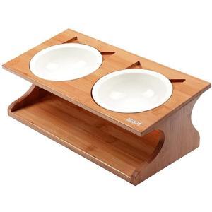 猫 ペット ボウル えさ皿 ダイニングテーブル 食台 餌入れ 猫用 水入れ ねこ ペット用 器 ペット食器 ステンレス 小型(2個)|horikku