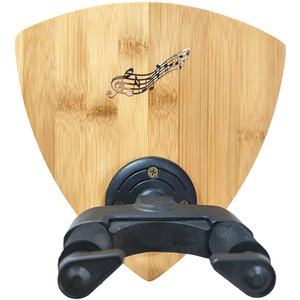 ギターハンガー ギターフック 壁掛け 木製フック 壁掛けギターフック ギタースタンド(ナチュラルカラ...