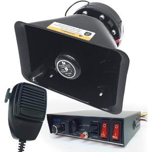 拡声器 スピーカー 24 V 200 W 防水 汽笛 サイレン 全8音 選挙カー MDM|horikku