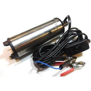 水中 ポンプ ウォーターポンプ 12V 小型 強力 給油 給水 排油 排水 灯油 海水 船舶 風呂 水槽 汚水(12V 30L/min)|horikku