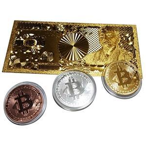 ビットコイン レプリカ 一億円札 Bitcoin replica 金運グッズセット(金運4点セット)|horikku