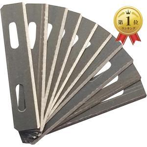 革削ぎ スーパースカイバー レザークラフト 革漉き 工具 a877(替刃10枚)