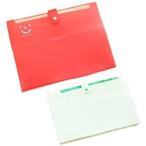 ファイルケース A4 12ポケット ドキュメントファイル じゃばら アコーディオン 書類 収納(12ポケット2個セット)|horikku