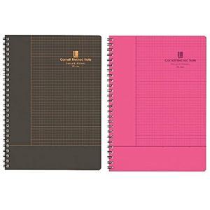 米名門大学が開発したノート術「コーネルメソッド」を取り入れたノート。次に何をすべきかがはっきり見える...