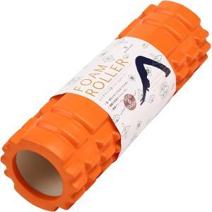【目玉商品】 フォームローラー 筋膜リリース ストレッチ ヨガポール 30cm?10cm 軽量 ミニ 持ち運びに便利(オレンジ)|horikku