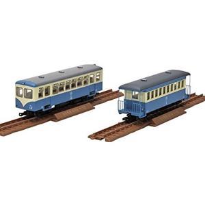 鉄道コレクション「ナローゲージ80 猫屋線」シリーズ。 第4弾にはバケット付気動車と一段窓の客車が登...