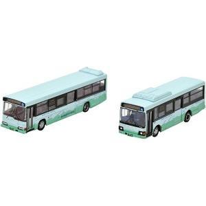ザ・バスコレクション バスコレで巡る想い出の国鉄ローカル線転換・代替バスシリーズ2 標津線 阿寒バス 2台セット ジオラマ用品[287971] horikku