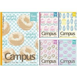 女子中高生に大人気の「ミスタードーナツ」とコラボした限定キャンパスノート 「表紙」 限定ミスタードー...