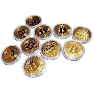 ビットコイン レプリカ Bitcoin replica 金10枚セット(ビットコイン(金)10枚セット)|horikku
