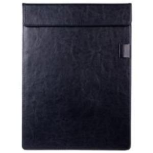 2way マグネット式 メモ マウスパッド ボード PUレザー 便利 革製品(黒)|horikku