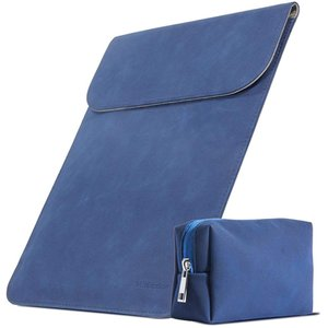 スリーブケース インナーケース macbook pro/air 13.3インチ ノートパソコン MDM(紺, macbook 13.3インチ)|ホリック PayPayモール店