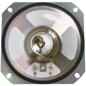 F-LIN E G725-100 8Ω 10cm 防滴フルレンジスピーカー / 5W 10センチ 小型 透明 スピーカーユニット(1個)|horikku