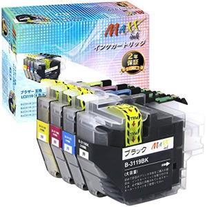 ブラザー インクカートリッジ 互換 LC3119 4色セット 増量 残量表示ICチップ付 「マックスインク」MAXX ink brother|horikku