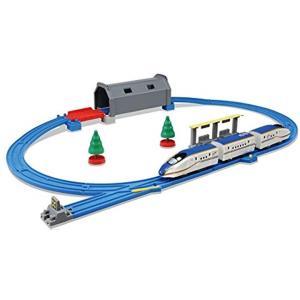 プラレール トンネルを照らそう. ライト付E7系新幹線かがやき ベーシックセット