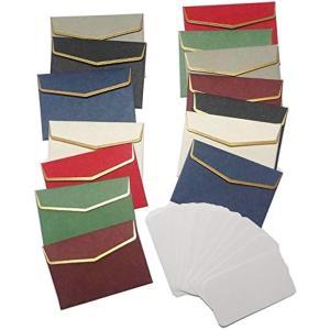 カラー プレミアム レターセット 封筒 メッセージカード 手紙(マルチカラー)|horikku