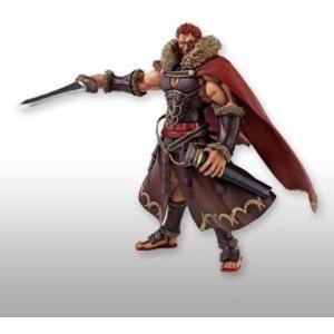 筋骨隆々の巨躯に彫りの深い顔立ち、 征服王イスカンダルらしく自信満々のニヒルな笑顔マントの着脱も可能...