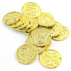 海賊アイテム ゴールドコイン 金貨 100枚[GOLD COIN](金)|horikku