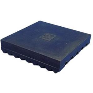 防振マット 冷蔵庫用 90mm×90mm×厚20mm 1枚入[TS-90S](ブラック)|horikku