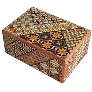 箱根寄木細工 秘密箱7回仕掛け Japanese puzzle box 7steps[H0701]|horikku