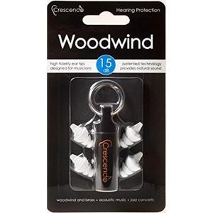 耳栓 管楽器用 イヤープロテクター Woodwind[CRESCENDO WOODWIND 15](スタイル)|horikku
