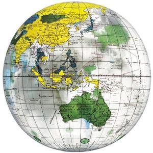 地球儀ボール[BGP-240](クリア)
